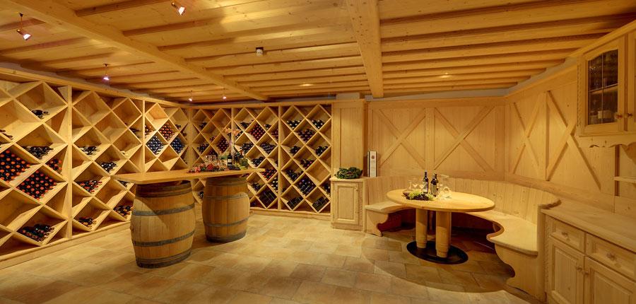 Hotel Alaska, Selva, Italy - wine cellar.jpg